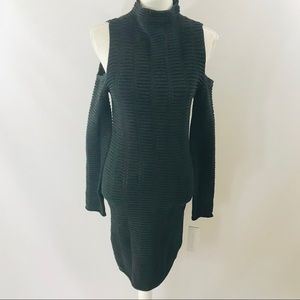 French Connection Cold Shoulder Knit Dress Size 4